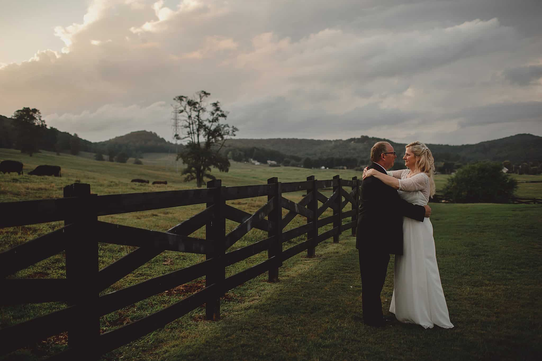 Shelley & Harold's Simply Elegant Summer Elopement at The Clark House, Livingston TN